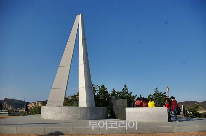 ▲ 천안함 46용사 위령탑