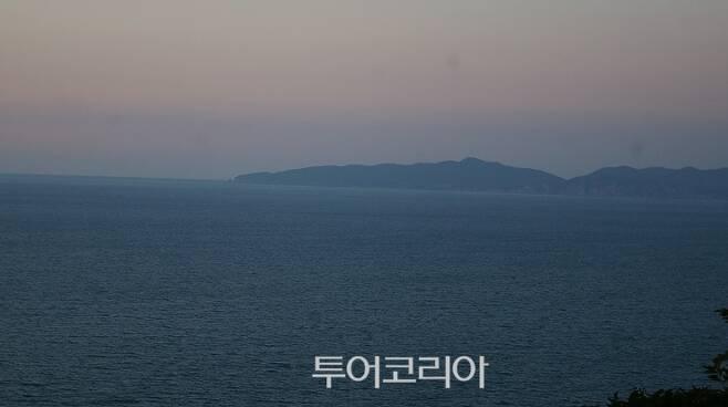 ▲ 삼청각에서 바라본 북한 장산곶