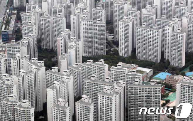서울 일대의 아파트 단지. © News1 이재명 기자