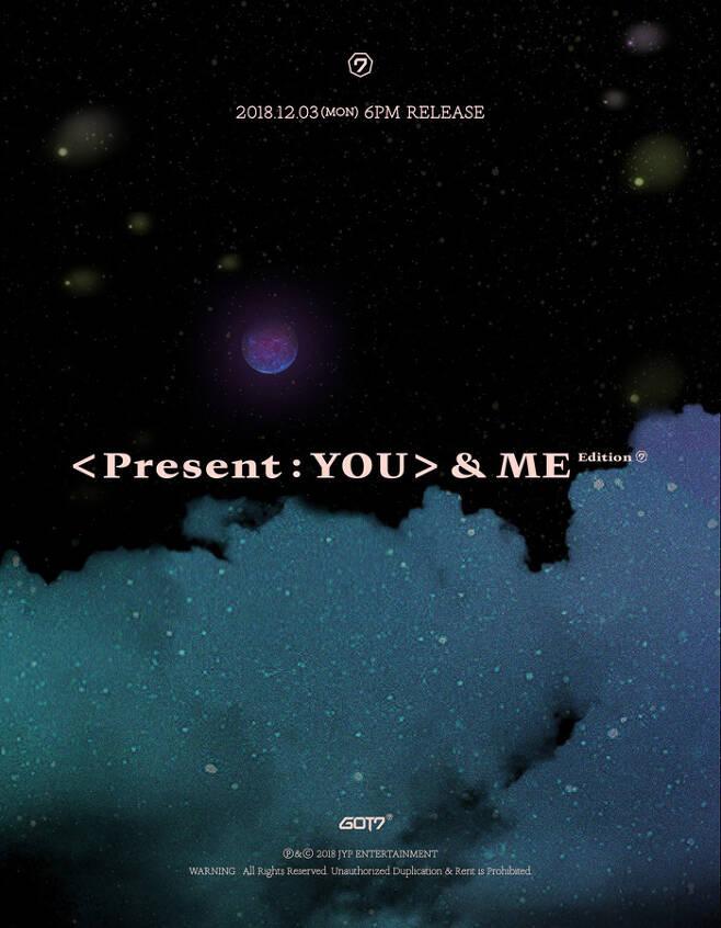 ▲ 갓세븐 컴백 포스터. 제공 ⓒ JYP 엔터테인먼트