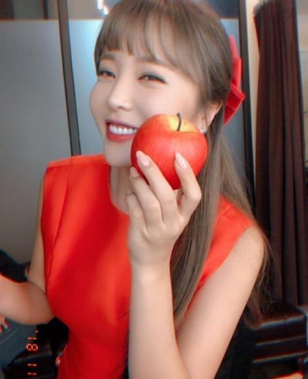 홍진영 인스타그램 캡처