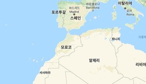 북아프리카 모로코[구글 캡처]