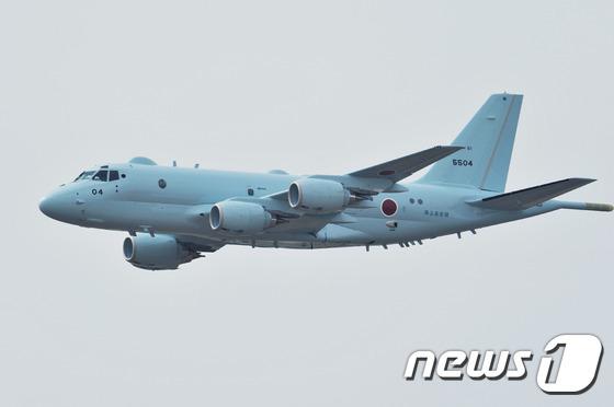 일본 해상자위대의 P-1 초계기(일본 해상자위대 제공) © News1