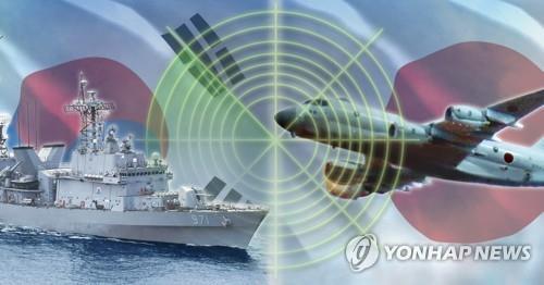 한국-일본 '레이더 갈등'(PG) [이태호 제작] 사진합성·일러스트