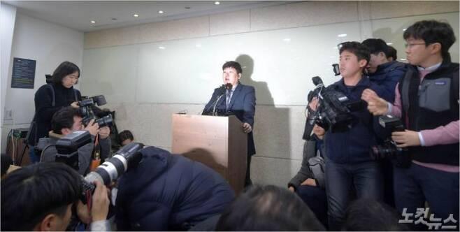 신재민 전 사무관. 박종민 기자/자료사진