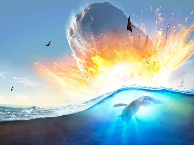 6500만년 전 지구 충돌 소행성, 높이 1.5㎞ 쓰나미 일으켰다