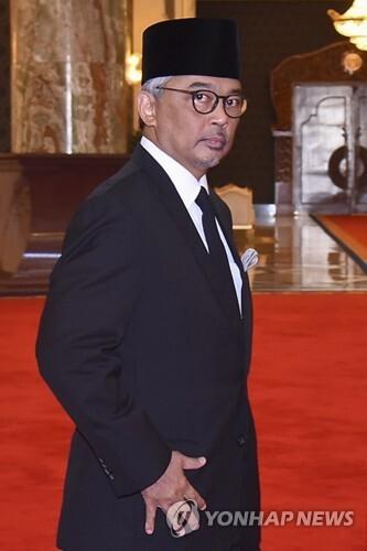 2019년 1월 24일 말레이시아의 차기 국왕으로 선출된 파항 주의 술탄 압둘라 이브니 술탄 아흐맛 샤(60). [EPA=연합뉴스]