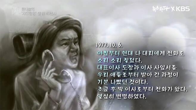▲ 1977년10월6일 심재섭 일기