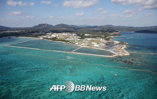 오키나와현 나고시의 헤노코. / AFPBBNews=뉴스1