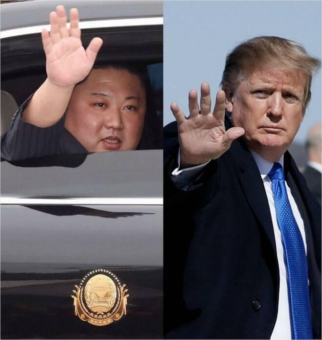 김정은 국무위원장과 트럼프 대통령. (사진=연합뉴스 제공)