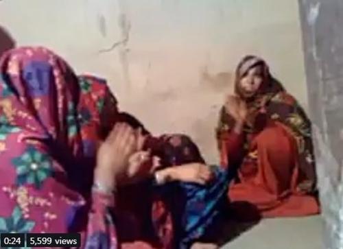'명예살인'의 발단이 된 결혼식 동영상 캡처