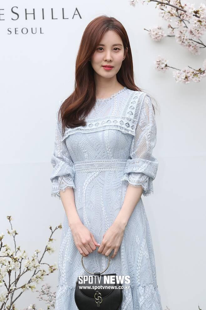 ▲ 서현, 단아한 하객 패션