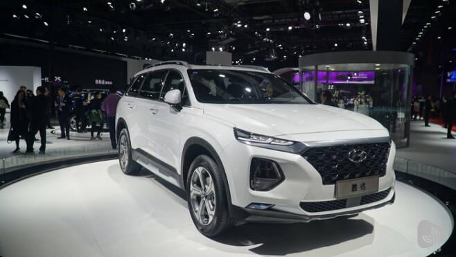 현대자동차 중국형 싼타페
