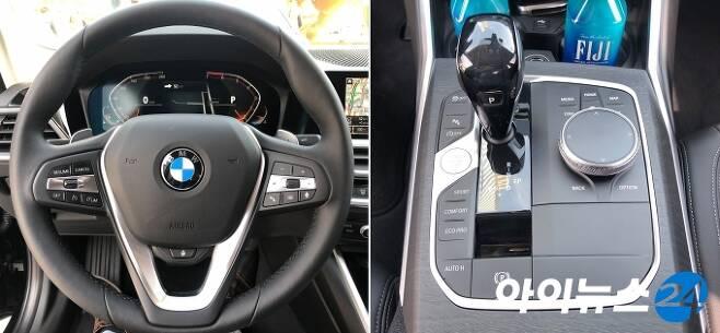 BMW 뉴 330i 럭셔리 라인 내부 [한상연 기자]