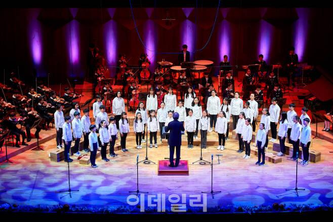 예술의전당 어린이예술단의 공연 모습(사진=예술의전당).