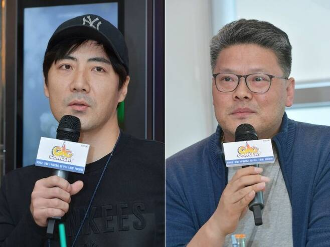 KBS2 '개그콘서트' 박형근 PD(사진 왼쪽)와 원종재 PD (사진=KBS 제공)