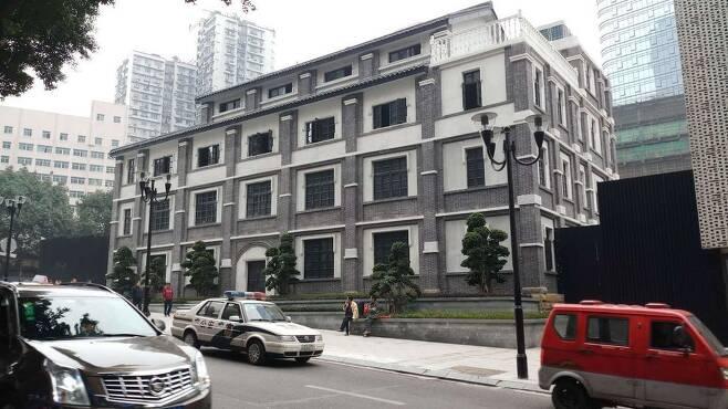 지난 3월 복원된 중국 충칭의 한국광복군 총사령부 건물. 연합뉴스
