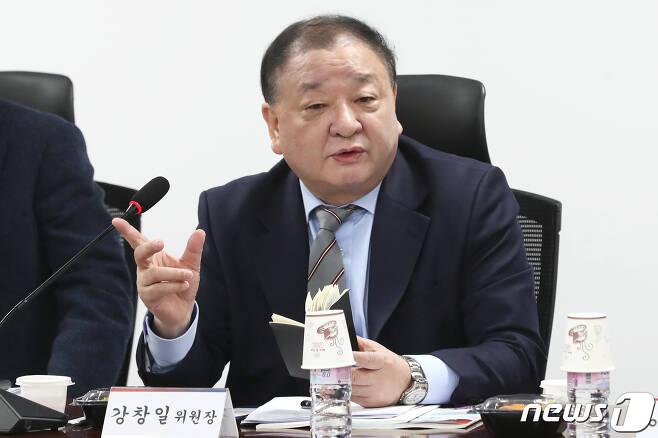 강창일 더불어민주당 의원. © News1 임세영 기자