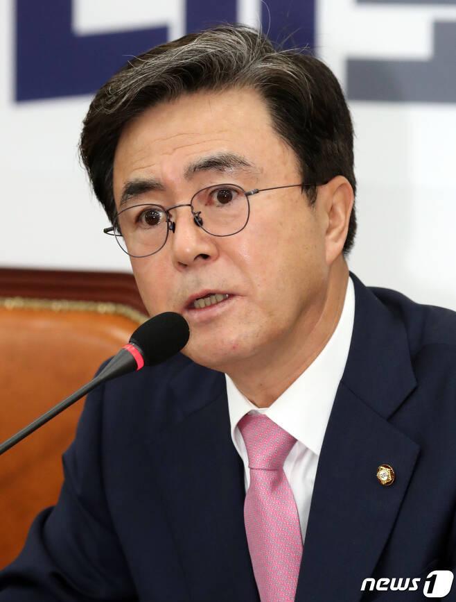 김태흠 자유한국당 의원  2019.3.14/뉴스1 © News1 김명섭 기자