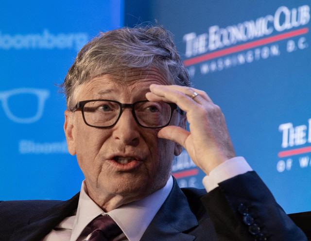 빌 게이츠 마이크로소프트 창업자.     /AFP연합뉴스