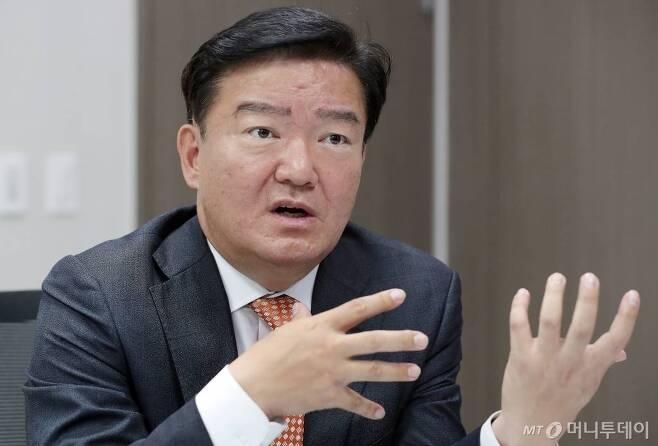 민경욱 자유한국당 의원./사진=김창현 기자