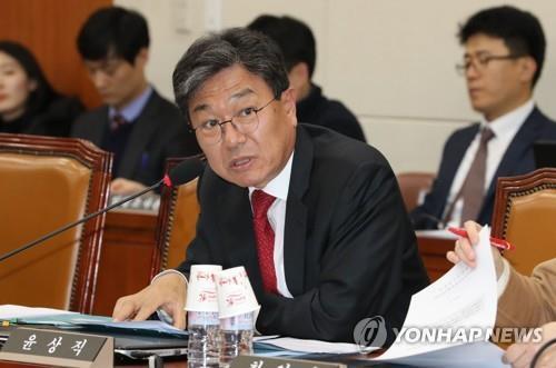 윤상직 의원 연합뉴스 자료사진