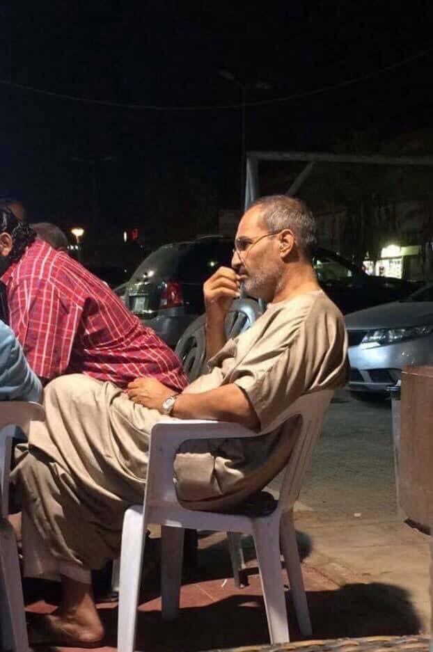 이집트서 포착된 스티브 잡스 도플갱어.(사진=페이스북)
