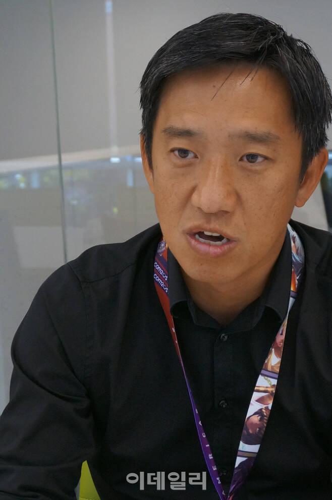 이규창 게임빌컴투스USA법인장 (사진=김혜미 기자)
