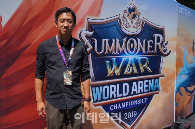 이규창 게임빌컴투스USA 법인장. 사진 : 김혜미 기자
