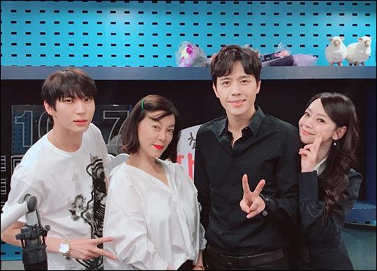 김소현, 손준호 부부가 '최화정의 파워타임'에 출연했다. ⓒ SBS 파워FM