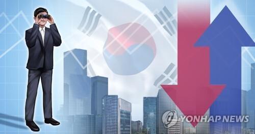 한국경제 전망 (PG) [장현경 제작] 일러스트