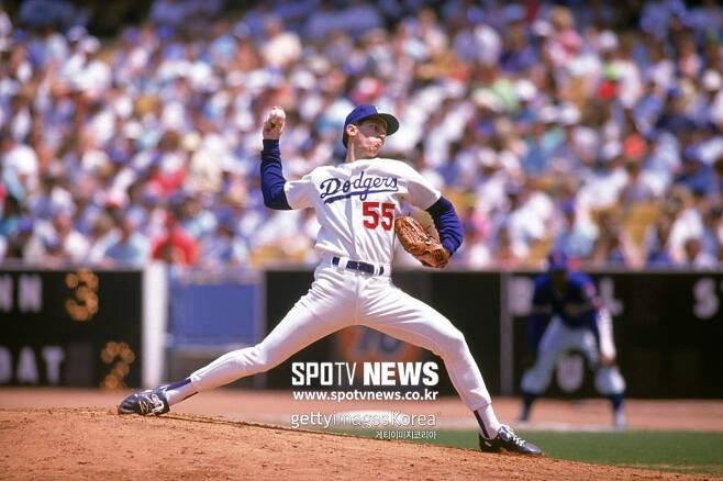 ▲ 1983년 메이저리그에 콜업된 오렐 허샤이저는 유년 시절 성장이 늦어 별 관심을 받지 못하며 1979년 메이저리그 신인 드래프트에서 17라운드에 다저스에 지명됐다.