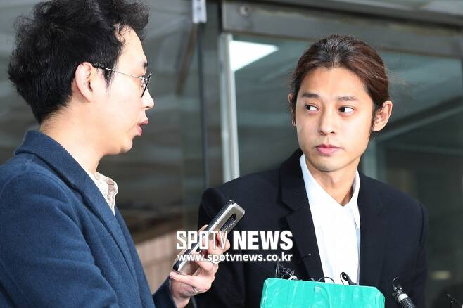 ▲ 집단 성폭행 혐의를 받는 정준영. ⓒ곽혜미 기자