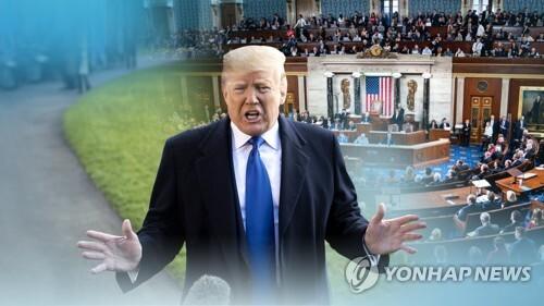도널드 트럼프 미국 대통령 (CG) [연합뉴스TV 제공]