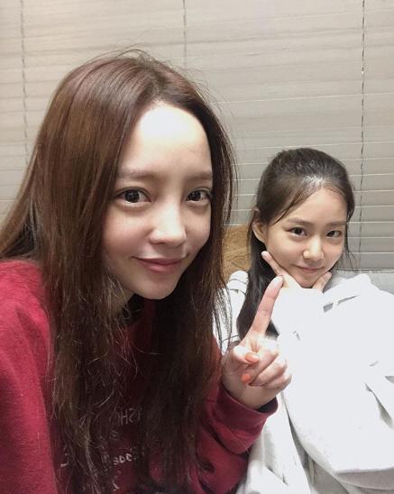 지난 달 30일 구하라 인스타그램에 게재된 구하라와 한승연