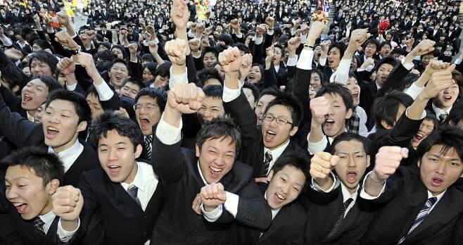 일본 신입사원들 /AFPBBNews=뉴스1