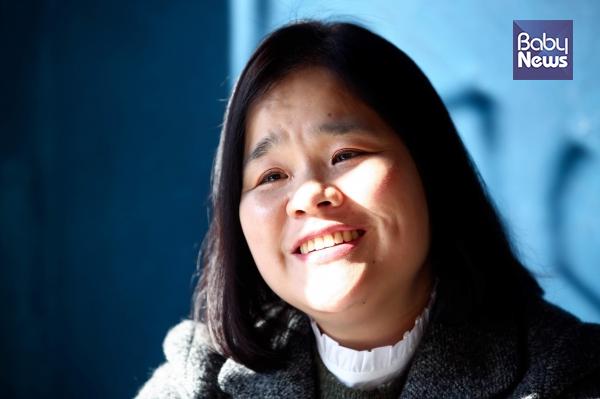 20일 베이비뉴스는 김미영 한국1형당뇨환우회 대표를 만나 그동안의 변화에 대해 이야기를 들었다. 서종민 기자 ⓒ베이비뉴스