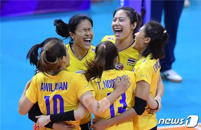태국 여자배구 대표팀. 사진=FIVB 제공. © 뉴스1