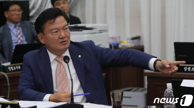 민경욱 자유한국당 의원.  © News1 오현지 기자