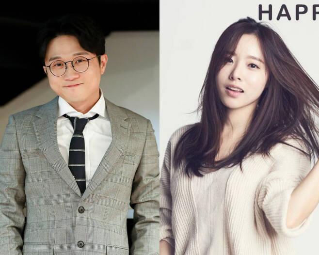 5월 결혼하는 개그맨 박성광과 배우 출신 이솔이, 사진|경향DB, '이웃의 수정씨' 페이스북 페이지 캡쳐.