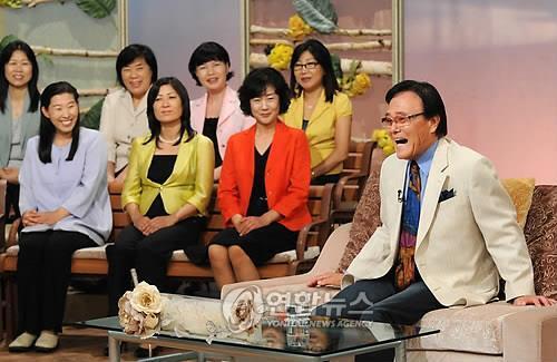 2009년 KBS '아침마당'에 출연한 자니윤 [연합뉴스 사진자료]