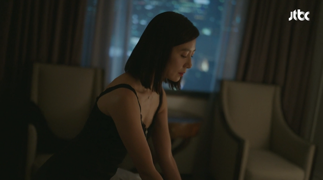 김희애. 사진=JTBC '부부의 세계' 방송 캡처