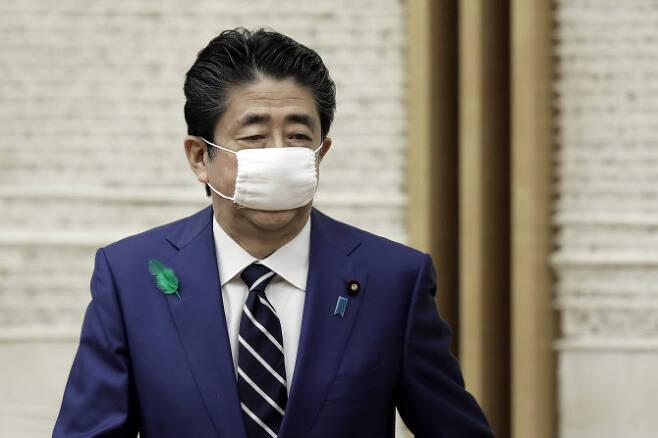 아베 신조 일본 총리. (사진=AFP)
