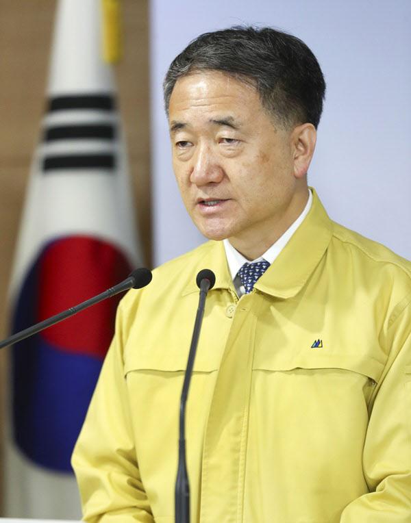 박능후 보건복지부 장관/뉴시스