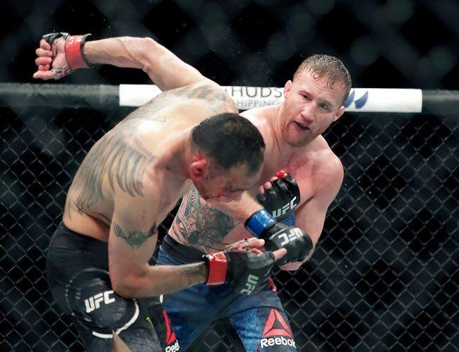 [UFC 249] 저스틴 게이치가 토니 퍼거슨을 TKO로 꺾었다. ⓒ 뉴시스