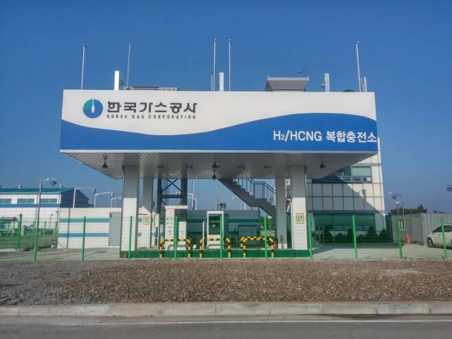 한국가스공사 수소 충전소 전경/사진제공=한국가스공사