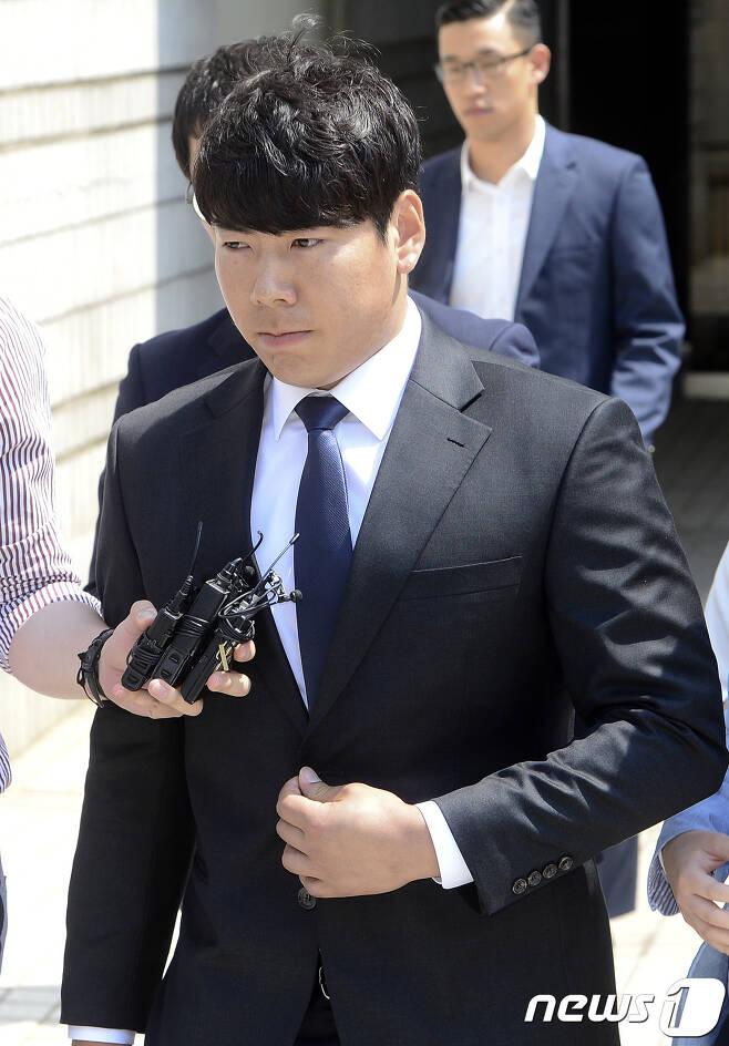 강정호가 KBO에 임의탈퇴 해제를 공식으로 신청했다. /뉴스1 © News1 신웅수 기자