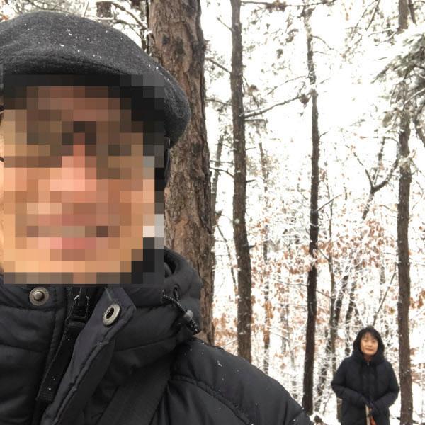 윤미향 정의기억연대 대표(오른쪽)와 그의 남편 김모씨. /페이스북