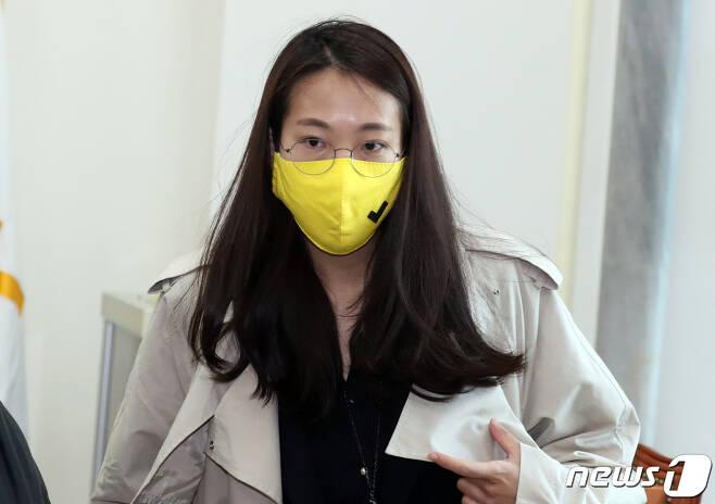 장혜영 정의당 혁신위원장. © News1 김명섭 기자