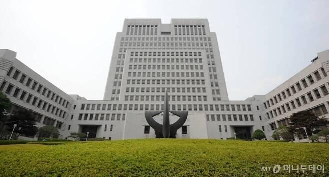 서울 서초동 대법원 청사 외경/사진=머니투데이
